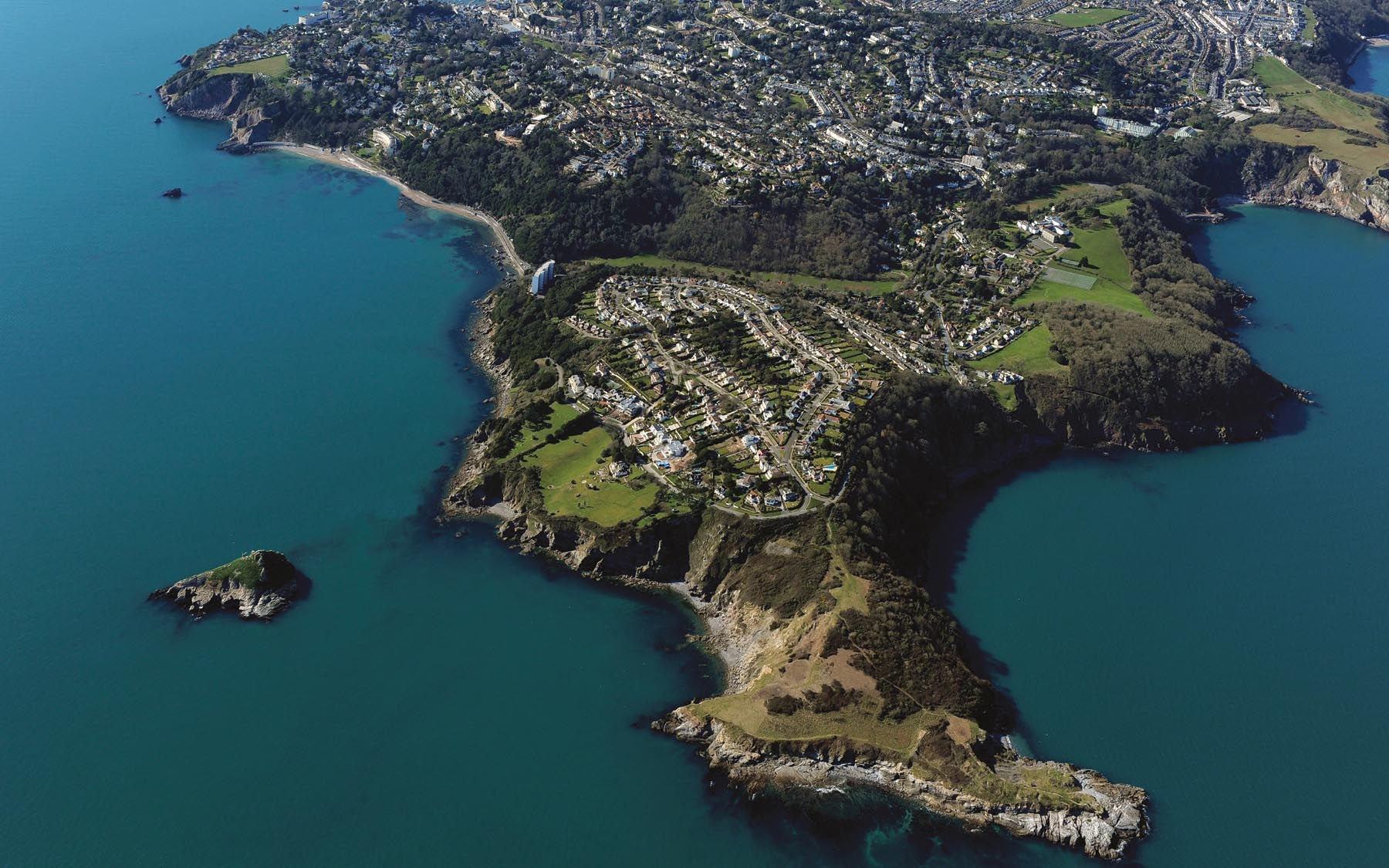 Torquay from above