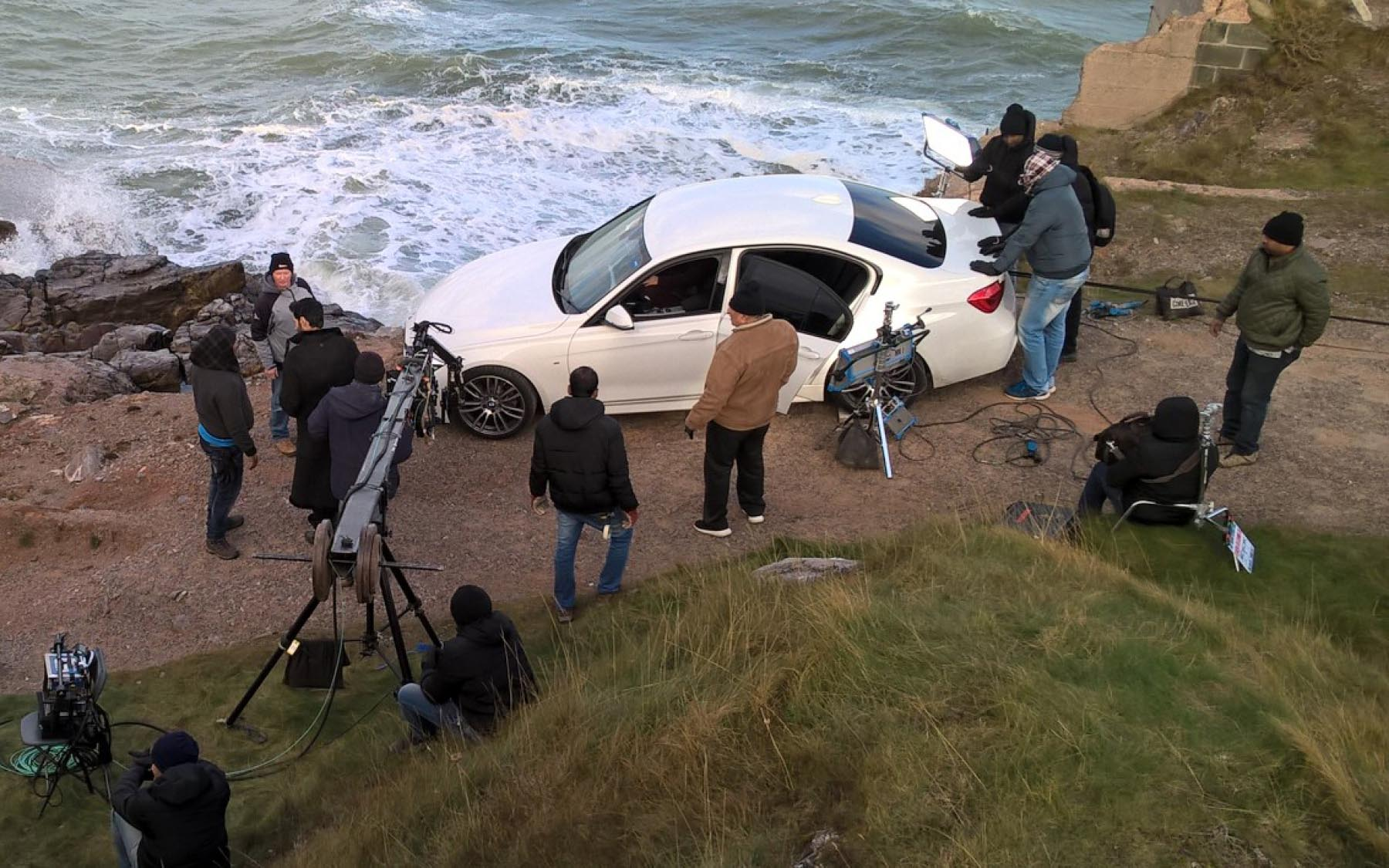 Berry Head filming