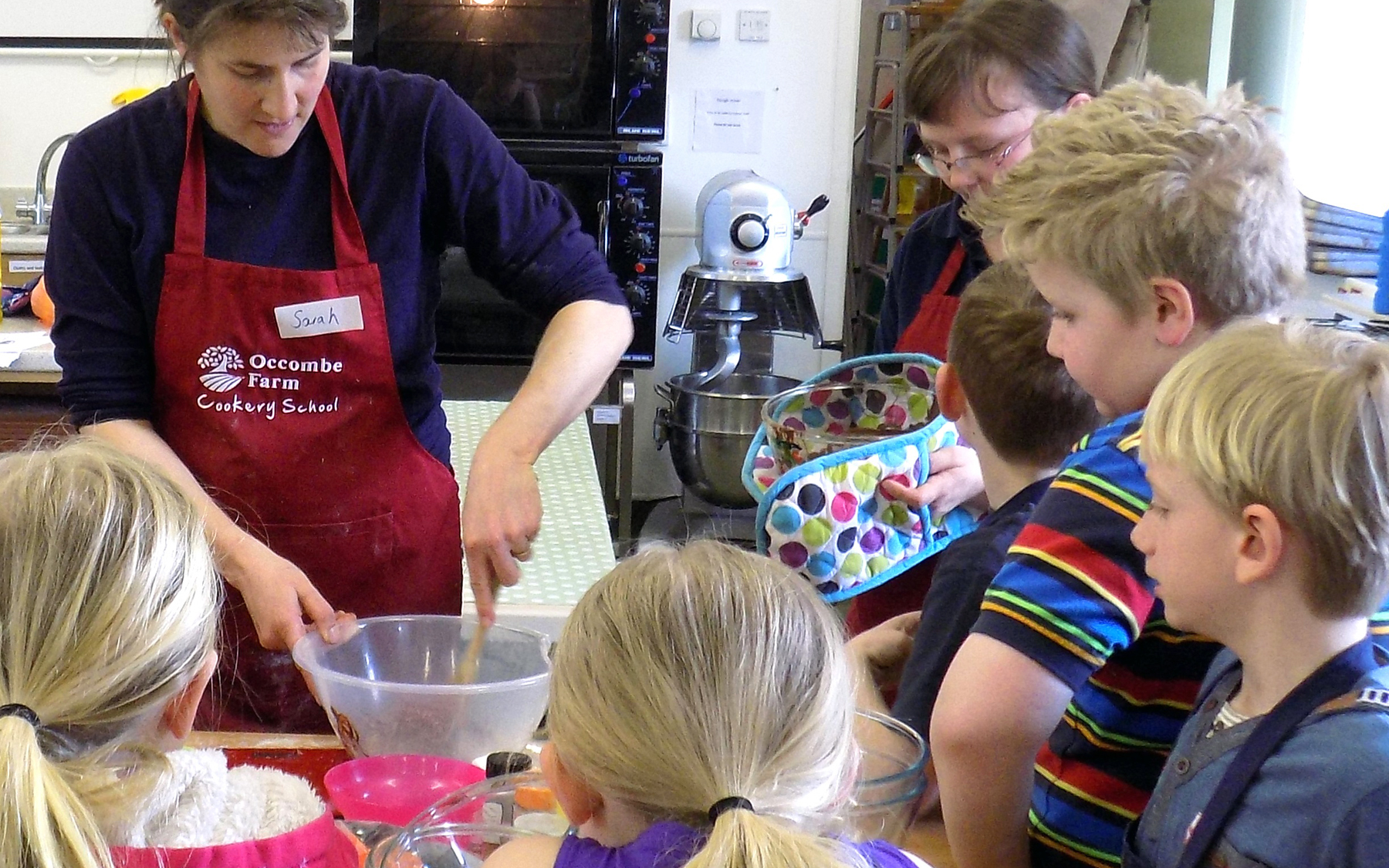 Occombe kids cookery school
