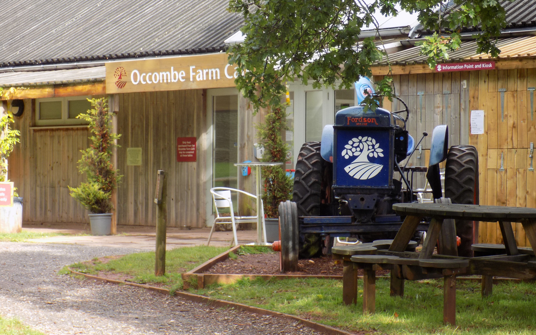 Occombe Farm entrance