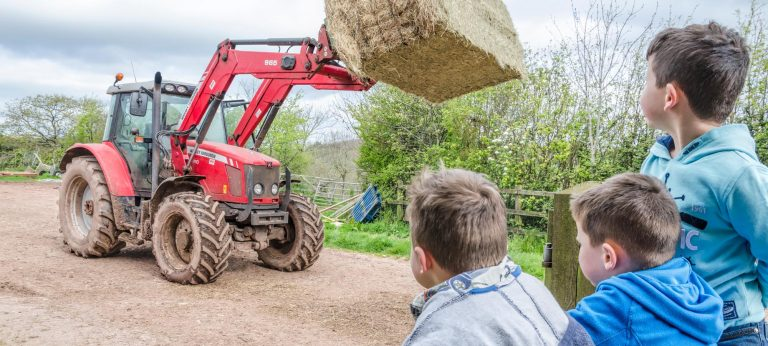 Occombe Farm tractor